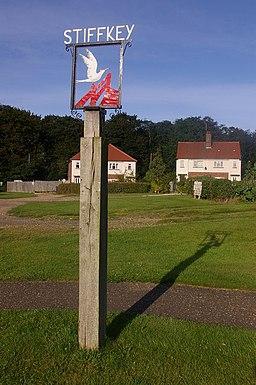 Stiffkey village sign - geograph.org.uk - 1052927