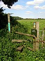 Stile on the Test Way, Ridge Lane - geograph.org.uk - 591739.jpg