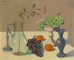 Gustave Van de Woestijne: Still Life with Grapes