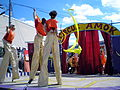 Stilt Walkers at Circus Amok by David Shankbone.jpg