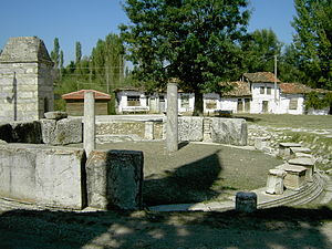 Aizanoi - Macellum, inscribed with the Price Edict of Diocletian