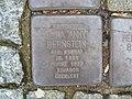Stolperstein Anna 'Anny' Bernstein, 1, Herweghstraße 11, Mörfelden, Mörfelden-Walldorf, Landkreis Groß Gerau.jpg