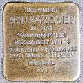 Stolperstein Arno Katzenstein by 2eight 3SC1349.jpg