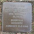 Stolperstein Bad Bentheim Paulinenweg 11 Dina Zilversmit.JPG