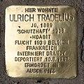 Stolperstein Bayerische Str 9 (Wilmd) Ulrich Tradelius.jpg