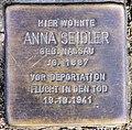 Stolperstein Cicerostr 62 Anna Seidler.jpg