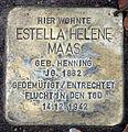 Stolperstein Eichkampstr 108 (Westend) Estella Helene Maas.jpg