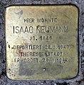 Stolperstein Ibsenstr 53 (Prenz) Isaac Neumann.jpg