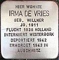 Stolperstein Irma de Vries.jpg