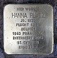 Stolperstein Reichsstr 9 (Westend) Hanna Platz.jpg