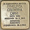 Stolperstein für Ermelinda Colombina Carmi (Alessandria).jpg