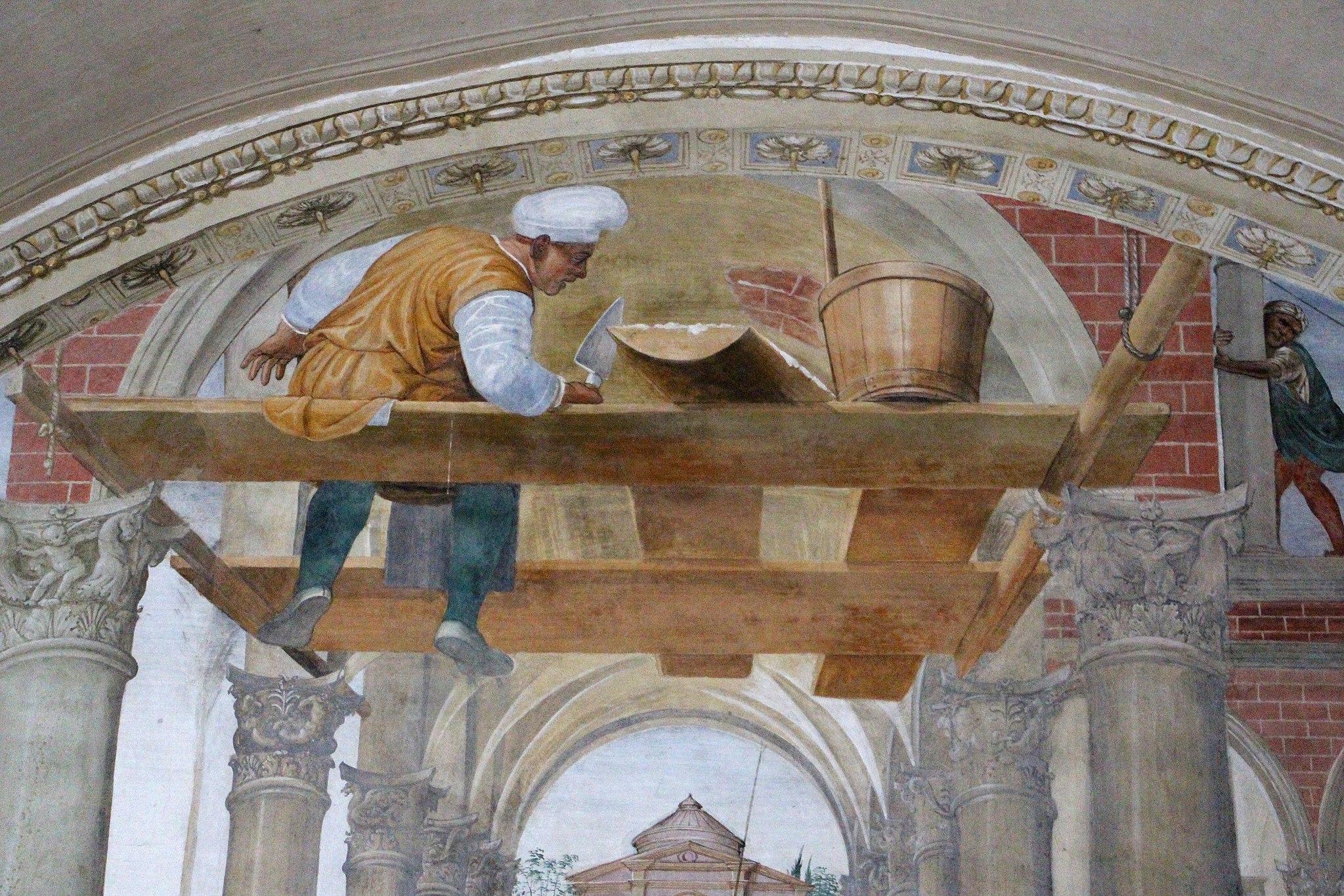 Storie di s. benedetto, 11 sodoma - Come Benedetto compie la edificazione di dodici monasteri 02
