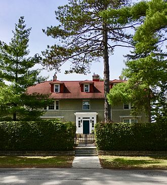 Rockcliffe Park, Ontario - Stornoway, residence of Canada's Leader of the Opposition
