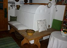 Stove bench in a living room.JPG