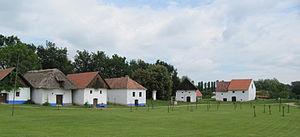 Moravian Slovakia - Open-air museum: vernacular architecture of Slovácko in Strážnice Skansen.