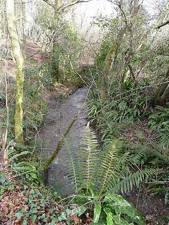 Bakesdown - A stream near Bakesdown