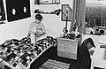 Student room in Rosebery Avenue Hall of Residence, c1981.jpg