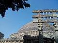 Stupa in Sanchi .jpg