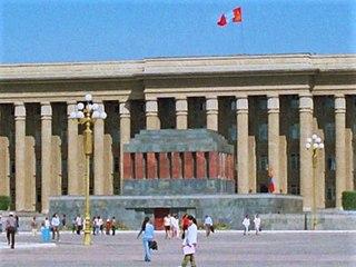 Sükhbaatars Mausoleum Mausoleum in Ulaanbaatar, Mongolia