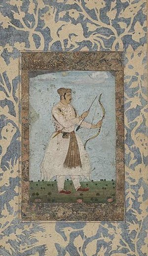 Daniyal Mirza - Daniyal during his Deccan expedition in 1603