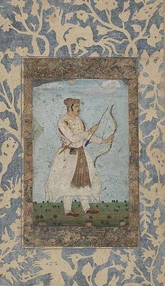 Daniyal Mirza - Daniyal during his Deccan expedition in 1603