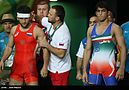 Summer Olympics 2016 , Men's Freestile Wrestling 74 kg 22.jpg