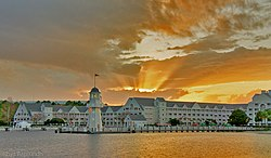 Sunlight at Disney's Yacht Club Resort.jpg