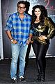 Sunny Leone at 'Ragini MMS - 2' promotions.jpg