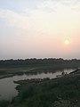 Sunset at Chitwan, Sauraha.jpg