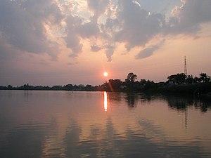 Sunset of Ubon