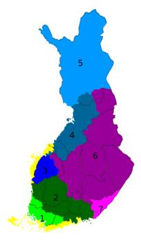 Peräpohjola dialects