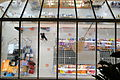Supermarket Viewed through Ceiling - Sulaimani-Suleimaniya - Kurdistan - Iraq.jpg