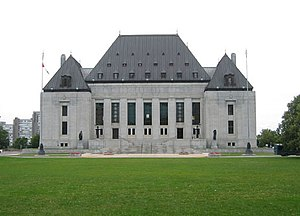 Freedom of religion in Canada - The Supreme Court Building in Ottawa