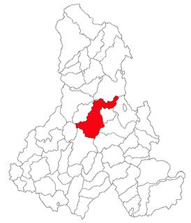 Suseni, Harghita Commune in Harghita, Romania