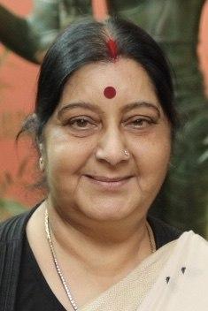 Sushma Swaraj - 2018 (45124842302) (cropped)