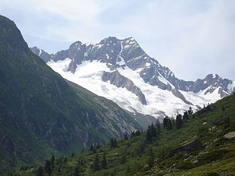 Sustenhorn - The east side from the Voralp valley
