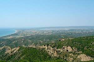 Landing at Suvla Bay - Image: Suvla from Battleship Hill