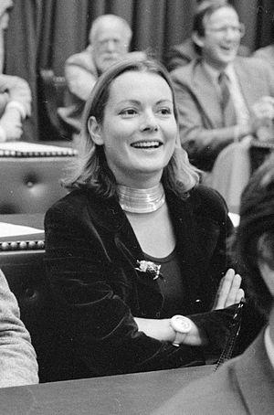 Suzanne Bischoff van Heemskerck - Suzanne Bischoff van Heemskerck in 1981