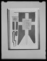 Svensk flagga med hertigvapen för Hertig Fredrik Adolfs vapen) - Livrustkammaren - 36623.tif