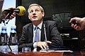 Sveriges utrikesminster Carl Bildt vid Nordiska radets session i Helsingfors. 2008-10-27 (3).jpg