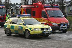 Tva fick lamna matchen i ambulans