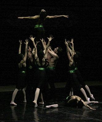 Les Ballets Persans - Symphony of Elegy. Choreography by Nima Kiann for National Ballet of Tajikistan. Dushanbe Opera House. 2012