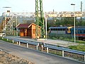 Szob narrow gauge railway station.JPG