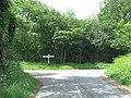 T-junction between the Woodhays and Kintbury - geograph.org.uk - 2455724.jpg
