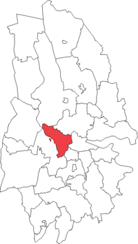 Tysslinge landskommune i Örebro amt
