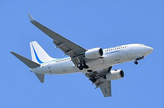 Wings of Lebanon - Wings of Lebanon's only Boeing 737-700