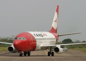 TANS Perú Boeing 737-200 OB-1806-P PEM 2005-8-8.png