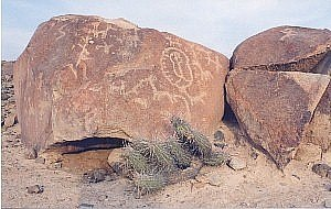 Tacna Region - Miculla Petroglyphs, in the district of Pachía.
