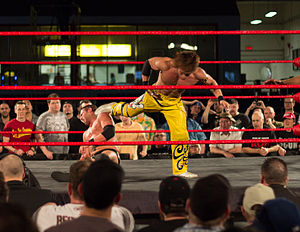 Taiji Ishimori - Ishimori hits Strong with the superkick