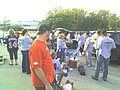 Tailgating with the Iowa Chops fans before the preseason game. (2915828011).jpg